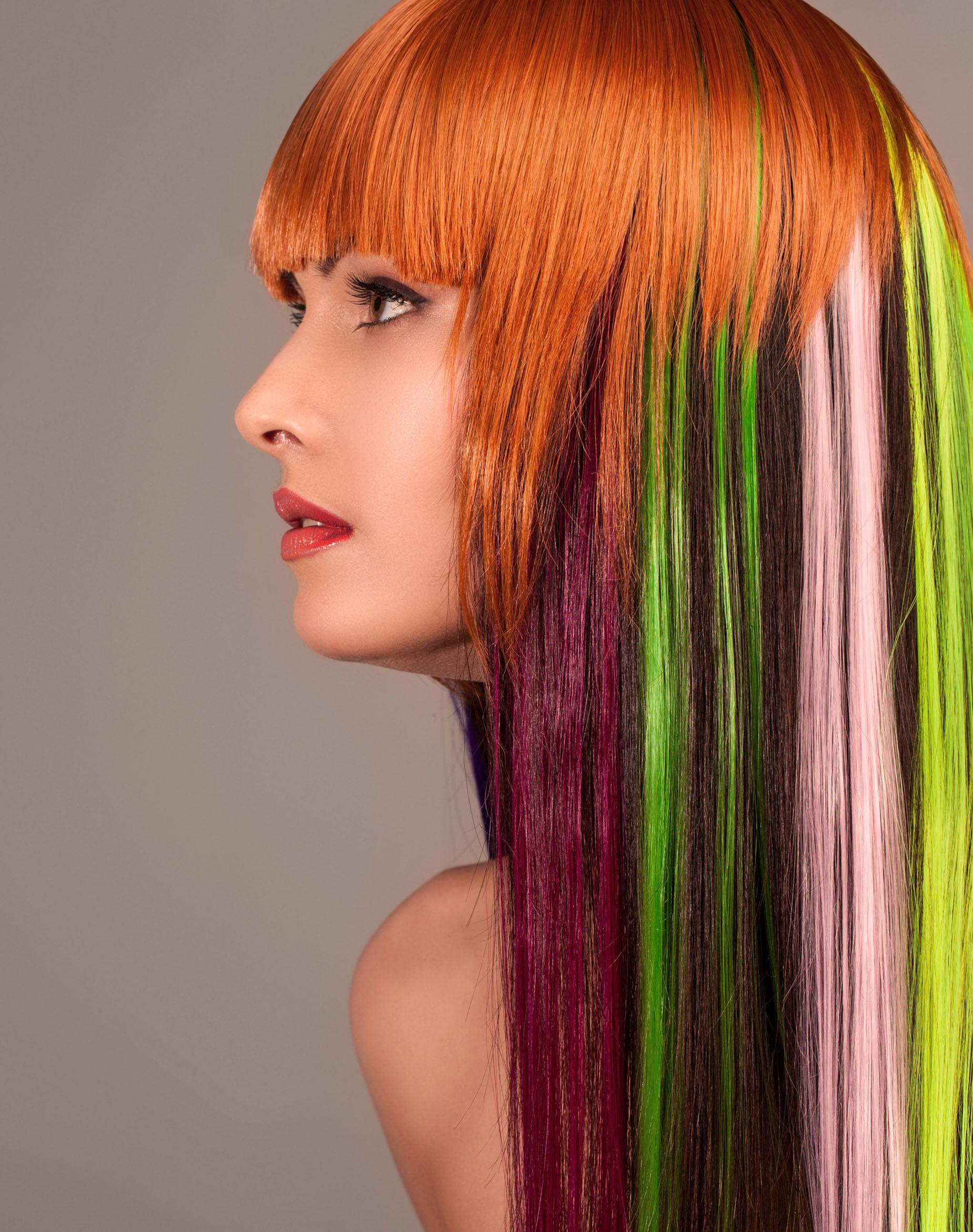 блочное окрашивание волос фото интересные для меня