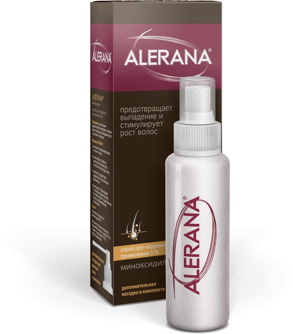 Спрей для наружного применения 5% ALERANA - средства для роста и ...