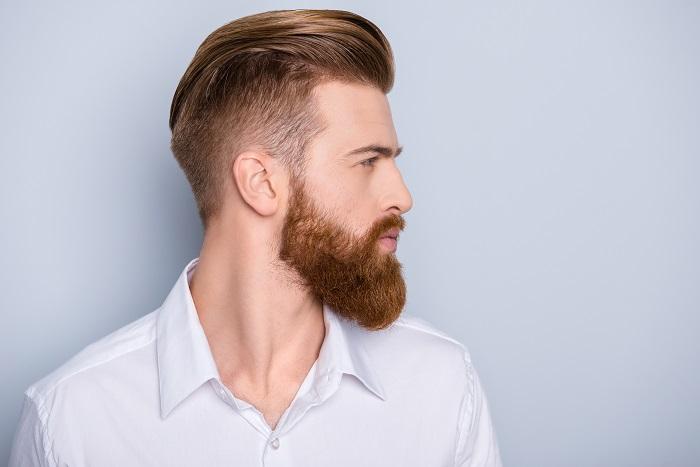 Алопеция бороды Фото 1