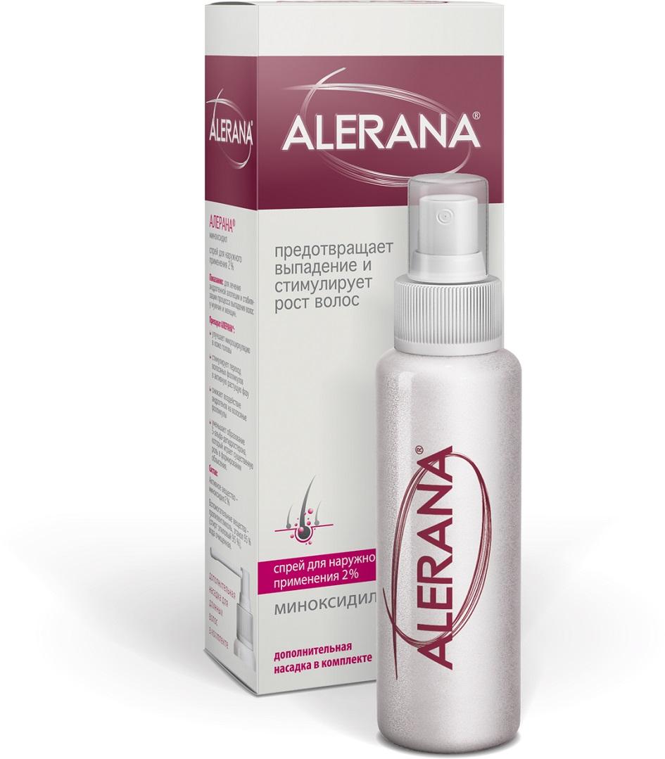 Спрей для роста волос ALERANA с миноксидилом - для наружного ...