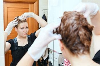 Как убрать рыжину волос