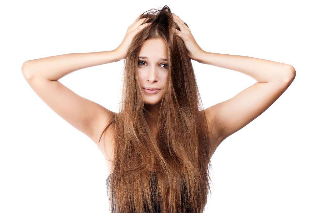 Больные волосы в чем причины