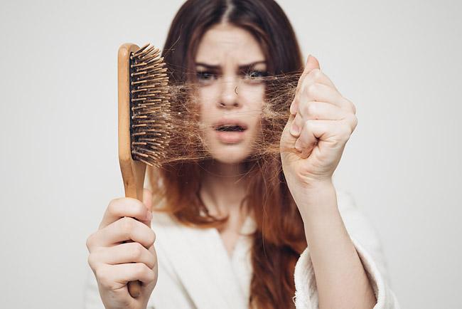 Выпадение волос из-за железодефицита Фото 1