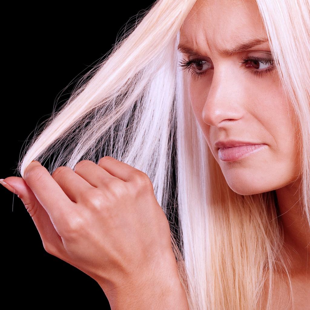 Слабые волосы безжизненные