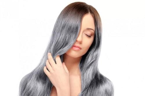 Восстановление цвета седых волос Фото 1
