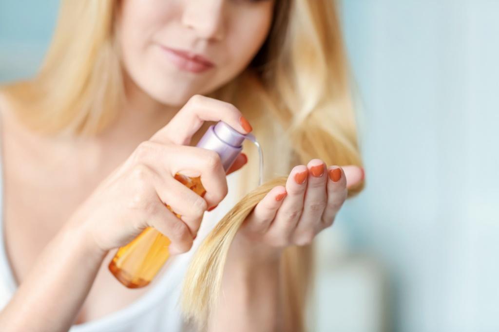 Спреи для волос в домашних условиях Фото 1
