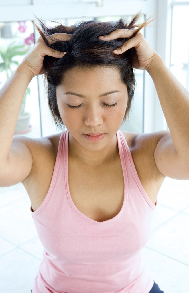 Массажер для роста волос на голове
