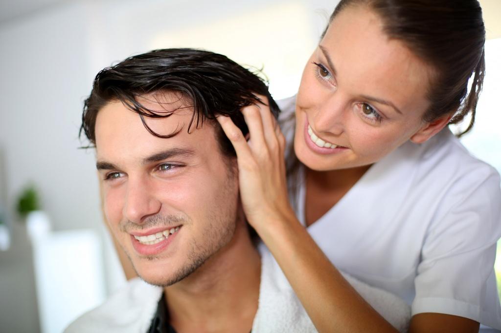 Восстановление волос у мужчин